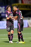 FOOTBALL - FRENCH CHAMPIONSHIP 2010/2011 - L1 - AS NANCY v TOULOUSE FC - 28/08/2010 - PHOTO GUILLAUME RAMON / DPPI - JOY OF TOULOUSE