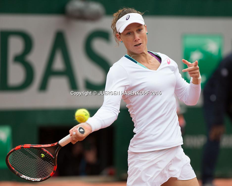 Samantha Stosur (AUS)<br /> <br /> Tennis - French Open 2016 - Grand Slam ITF / ATP / WTA -  Roland Garros - Paris -  - France  - 3 June 2016.