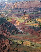 0111-1050 ~ Copyright: George H. H. Huey ~ Tsegi Canyon, after summer rains. Navajo National Monument, Arizona.