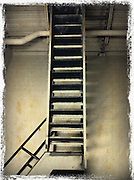 stairway leading to roof,black and white,Iphoneography,Iphone image cellphone photography,Iphone pictures,smartphone pictures