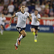Alex Morgan, USA, in action during the U.S. Women Vs Korea Republic friendly soccer match at Red Bull Arena, Harrison, New Jersey. USA. 20th June 2013. Photo Tim Clayton