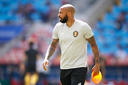 June 23, 2018 - Moscou, Rússia - MOSCOU, MO - 23.06.2018: BÉLGICA Y TÚNEZ - Former French player Thierry Henry and assistant coach of Belgium during Belgium-Tunisia match valid for the second round of Group G of the 2018 World Cup, held at the Otkrytie Arena in Moscow, Russia. (Credit Image: © Marcelo Machado De Melo/Fotoarena via ZUMA Press)