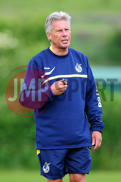 Bristol Rovers' manager, John Ward - Photo mandatory by-line: Dougie Allward/JMP - Tel: Mobile: 07966 386802 24/06/2013 - SPORT - FOOTBALL - Bristol -  Bristol Rovers - Pre Season Training - Npower League Two