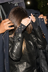 Travis Scott and Kylie Jenner are seen both leaving separately as Travis jumps into Kylie SUV leaving The Nice Guy. 14 Jun 2020 Pictured: Kylie Jenner and Travis Scott. Photo credit: 007 / PhotoGroup/ MEGA TheMegaAgency.com +1 888 505 6342
