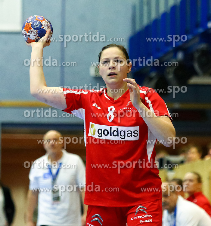 11.10.2015, BSFZ Südstadt, Maria Enzersdorf, AUT, EHF Euro 2016 der Frauen, Österreich vs Niederlande, Qualifikation, im Bild Martina Goricanec (AUT)// during Women's EHF Euro 2016 qualifier match between Austria and the Netherlands at the BSFZ Südstadt, Maria Enzersdorf, Austria on 2015/10/11, EXPA Pictures © 2015, PhotoCredit: EXPA/ Sebastian Pucher