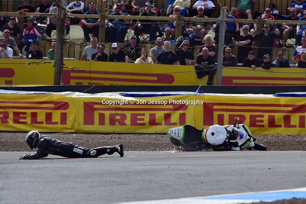 #40 Joe Francis Chester Movuno.com Halsall Racing Yamaha 600  Dickies British Supersport Championship