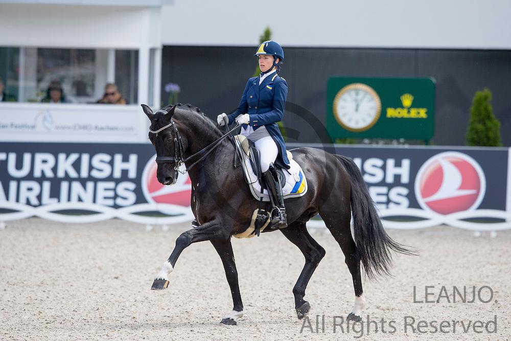 Inna Logutenkova - Don Gregorius<br /> World Equestrian Festival, CHIO Aachen 2015<br /> &copy; DigiShots
