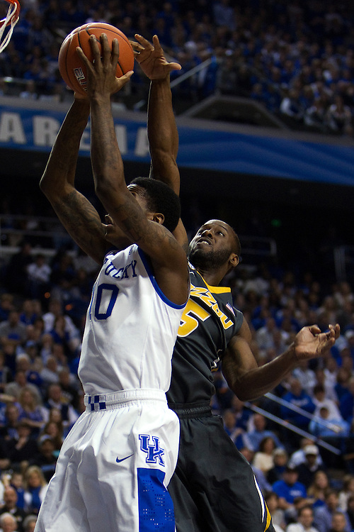 The University of Kentucky Men's Basketball team hosted Missouri , Saturday, Feb. 23, 2013 at Rupp Arena in Lexington .