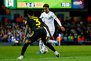 Leeds United forward Helder Costa (17), on loan from Wolverhampton Wanderers,  during the EFL Sky Bet Championship match between Leeds United and Brentford at Elland Road, Leeds, England on 21 August 2019.