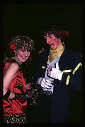 Jane Cameron at Piers Gaveston Ball. Oxford Town Hall. 1981 approx.© Copyright Photograph by Dafydd Jones 66 Stockwell Park Rd. London SW9 0DA Tel 020 7733 0108 www.dafjones.com