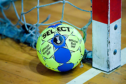 "The Offical IHF Ball ""Select"" at practice of Slovenian Handball Men National Team, on June 4, 2009, in Arena Kodeljevo, Ljubljana, Slovenia. (Photo by Vid Ponikvar / Sportida)"