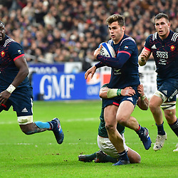 Damian Penaud of France during the test match between France and South Africa at Stade de France on November 18, 2017 in Paris, France. (Photo by Dave Winter/Icon Sport)