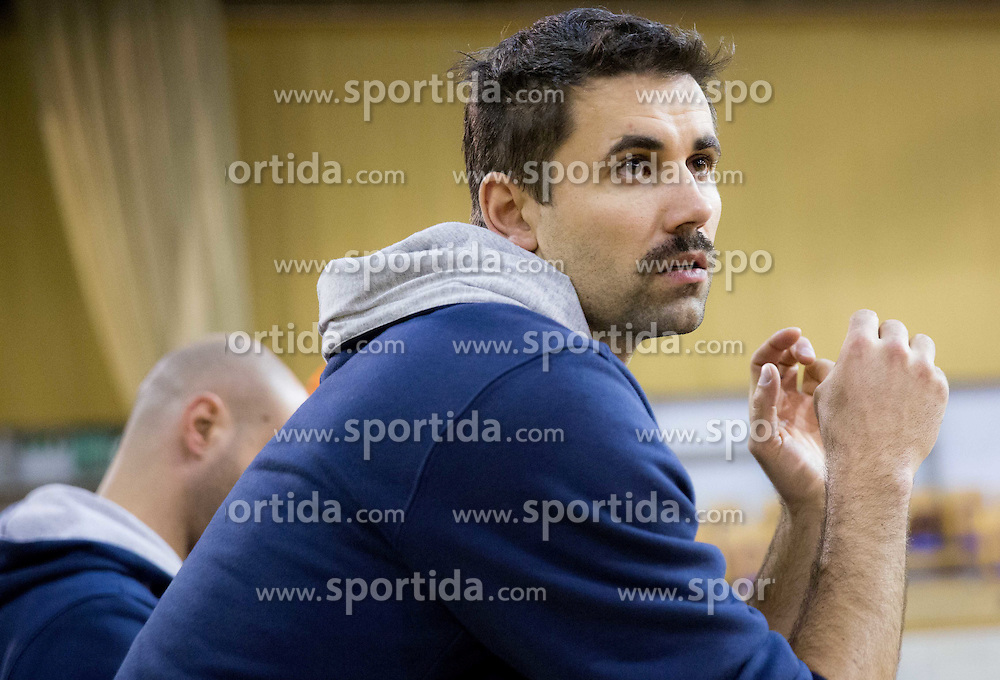 Tomi Smuc, head coach of ACH during volleyball match between ACH Volley Ljubljana and GO Volley Nova Gorica in 11th Round of 1. DOL 2014/15, on November 13, 2014 in Hala Tivoli, Ljubljana, Slovenia. Photo by Vid Ponikvar / Sportida