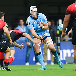 Nicolas VAN RENSBURG of Montpellier     during the Top 14 match between Montpellier and Toulouse on October 19, 2019 in Montpellier, France. (Photo by Alexandre Dimou/Icon Sport) - Nico Janse Van RENSBURG - Altrad Stadium - Montpellier (France)