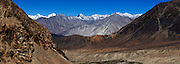 Nubra Valley seen from near Khardung La pass.
