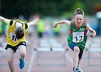 21 Aug 2016: Boys U10 60m Hurdles.  2016 Community Games National Festival 2016.  Athlone Institute of Technology, Athlone, Co. Westmeath. Picture: Caroline Quinn
