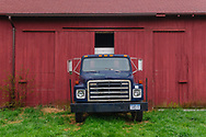 Red Barn and Truck, Mattituck, NY
