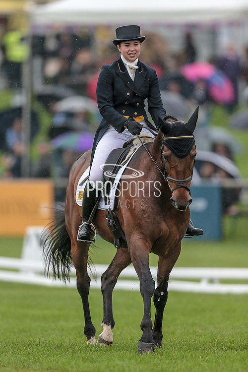 DARGLE LOOKS ridden by Harriet Dickin at Bramham International Horse Trials 2016 at Bramham Park, Bramham, United Kingdom on 10 June 2016. Photo by Mark P Doherty.