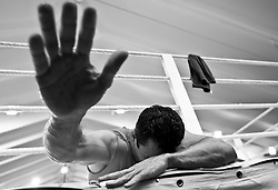 07.06.2011, Stanglwirt, Going, AUT, Wladimir Klitschko, Training, im Bild Wladimir Klitschko, Schwarz weiss, BW. EXPA Pictures © 2010, PhotoCredit: EXPA/ J. Groder