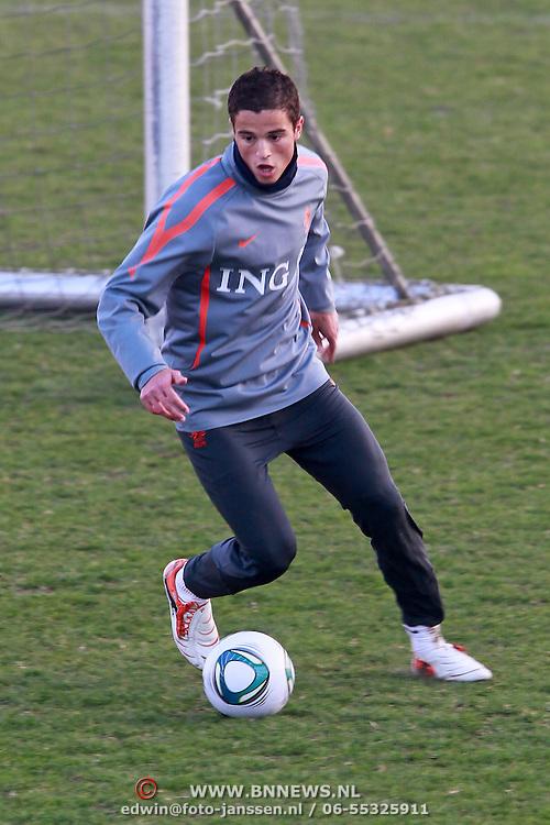 NLD/Katwijk/20110321 - Training Nederlandse Elftal Hongarije - NLD, Ibrahim Affalay