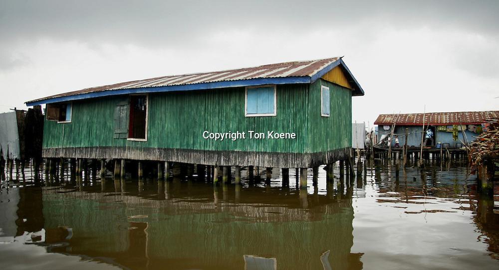 slums in lagos, Nigeria