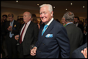 JULIAN FELLOWES; SIR BENJAMIN SLADE, The hon Alexandra Foley hosts drinks to introduce ' Lady Foley Grand Tour' with special guest Julian Fellowes. the Sloane Club. Lower Sloane st. London. 14 May 2014