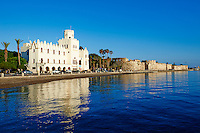 Grece, Dodecanese, ile de Kos, Chateau des Chevaliers // Greece, Dodecanese, Kos island, old town Castle