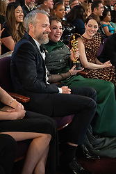 Ed Sinclair and Olivia Colman pose with the Oscar® for performance by an actress in a leading role during the live ABC Telecast of The 91st Oscars® at the Dolby® Theatre in Hollywood, CA on Sunday, February 24, 2019.