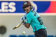 31 Jul 2018 - Surrey v Glamorgan in the Vitality T20 Blast cricket match at the Kia Oval.