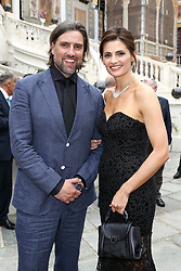 June 19, 2017 - Monaco, Monaco - 57th Monte-Carlo Television Festival cocktail at the Palace of Monaco. Kris Brkljac and Stana Katic. (Credit Image: © Visual via ZUMA Press)