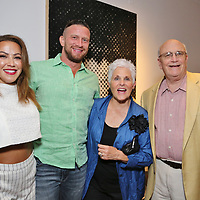 Shereen and Michael Fischer, Carolyn and Ernie Clarke