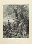 Gautheir Spared by Ylagazy Plate XXXV from the book Story of the crusades. with a magnificent gallery of one hundred full-page engravings by the world-renowned artist, Gustave Doré [Gustave Dore] by Boyd, James P. (James Penny), 1836-1910. Published in Philadelphia 1892