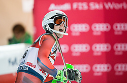 """Sebastian Foss-Solevaag (NOR) reacts  during the 2nd Run of FIS Alpine Ski World Cup 2017/18 Men's Slalom race named """"Snow Queen Trophy 2018"""", on January 4, 2018 in Course Crveni Spust at Sljeme hill, Zagreb, Croatia. Photo by Vid Ponikvar / Sportida"""
