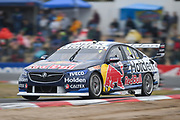 19th May 2018, Winton Motor Raceway, Victoria, Australia; Winton Supercars Supersprint Motor Racing; Jamie Whincup drives the number 1 Triple Eight Race Engineering Holden Commodore ZB during race 13 of the 2018 Supercars Championship