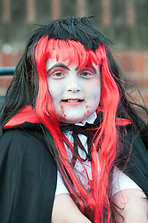 Guinness Northern Counties Housing Associations Godley Street  Scheme Hold a Halloween Street Party Courtney Hepworth..30 October 2010 .Images © Paul David Drabble