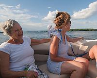Cruisin' the Lake with best friends.  Karen Bobotas Photographer
