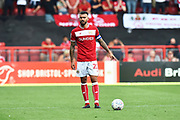 Marlon Pack (21) of Bristol City during the EFL Sky Bet Championship match between Bristol City and Nottingham Forest at Ashton Gate, Bristol, England on 4 August 2018. Picture by Graham Hunt.