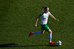 MARBELLA, SPAIN - Thursday, February 28, 2019: Republic of Ireland's Louise Quinn during an international friendly match between Wales and Republic of Ireland at the Marbella Football Centre. (Pic by David Rawcliffe/Propaganda)