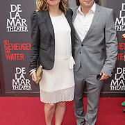 NLD/Amsterdam/20120617 - Premiere Het Geheugen van Water, Annelieke Bouwens en partner Cas Jansen