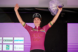 Marianne Vos (NED) leads the UCI Women's WorldTour after Ladies Tour of Norway 2019 - Stage 4, a 154 km road race from Svinesund to Halden, Norway on August 25, 2019. Photo by Sean Robinson/velofocus.com