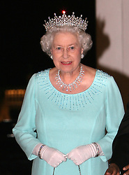 HM Queen attends the State Banquet at Istana on her Visit to Singapore..Photo by Ian Jones.