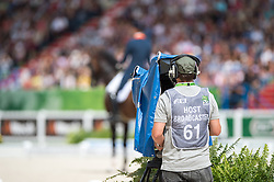 Hans Peter Minderhoud, (NED), Glock's Johnson N.O.P. - Freestyle Grand Prix Dressage - Alltech FEI World Equestrian Games™ 2014 - Normandy, France.<br /> © Hippo Foto Team - Jon Stroud<br /> 25/06/14