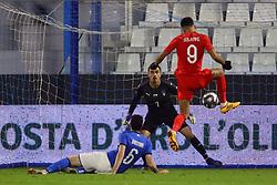 Second goal England Dominic Solanke (England)     <br /> Football friendly match Italy vs England u21<br /> Ferrara Italy November 15, 2018<br /> Photo by Filippo Rubin