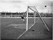 14/09/1952<br /> 09/14/1952<br /> 14 September 1952<br /> Soccer: Waterford v Transport at Harolds Cross Park, which Waterford won.