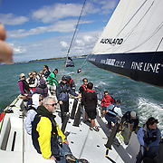 Onboard sailing on the America's Cup Yacht NZL41 Auckland
