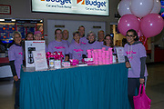 KELOWNA, CANADA - OCTOBER 21:  Canadian Cancer Society at the Kelowna Rockets game on October 21, 2017 at Prospera Place in Kelowna, British Columbia, Canada.  (Photo By Cindy Rogers/Nyasa Photography,  *** Local Caption ***