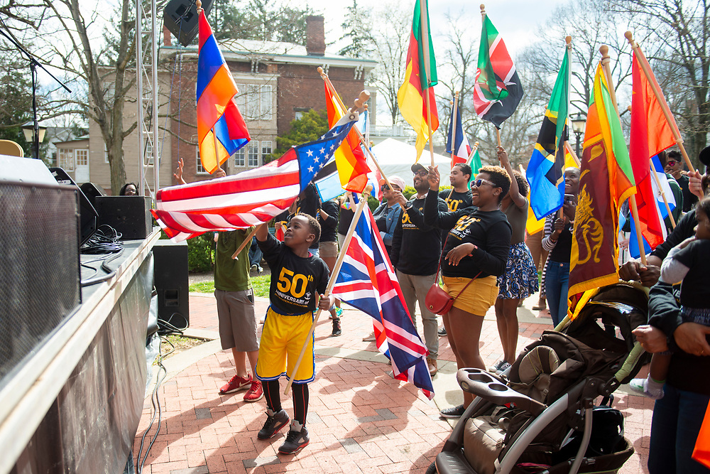 Ohio University hosts the 2019 International Street Fair on April 6, 2019. Photo by Hannah Ruhoff