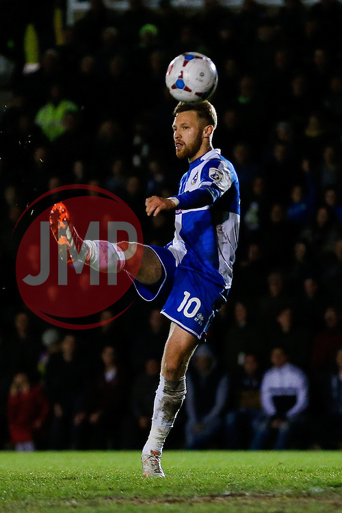 Matt Taylor of Bristol Rovers - Photo mandatory by-line: Rogan Thomson/JMP - 07966 386802 - 29/04/2015 - SPORT - FOOTBALL - Nailsworth, England - The New Lawn - Forest Green Rovers v Bristol Rovers - Vanarama Conference Premier - Playoff Semi Final 1st Leg.