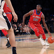Rysheed Jordan, St John's, wearing twenty-three, in action  during the Providence Vs St. John's Red Storm basketball game during the Big East Conference Tournament at Madison Square Garden, New York, USA. 12th March 2014. Photo Tim Clayton