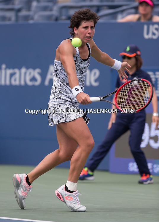 CARLA SU&Aacute;REZ NAVARRO (ESP)<br /> <br /> Tennis - US Open 2016 - Grand Slam ITF / ATP / WTA -  USTA Billie Jean King National Tennis Center - New York - New York - USA  - 5 September 2016.